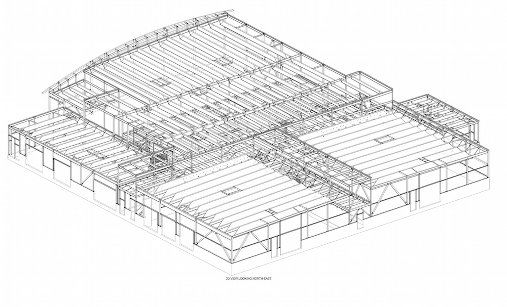 Infiniti Gallery Calgary - TGC Consulting Services - Miscellaneous & Structural Steel Drawings, Fabrication and Detailing