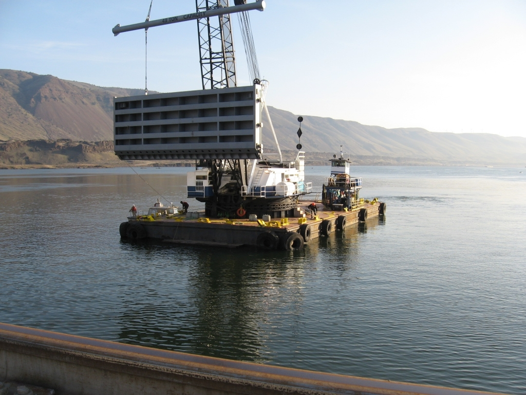 John Day Dam - TGC Consulting Services - Miscellaneous & Structural Steel Drawings, Fabrication and Detailing
