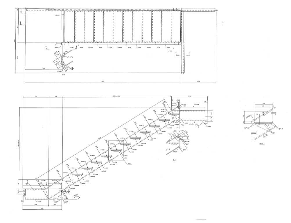 3D Steel Stairs