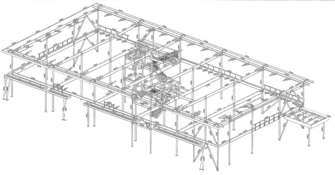 3D Steel Drawings